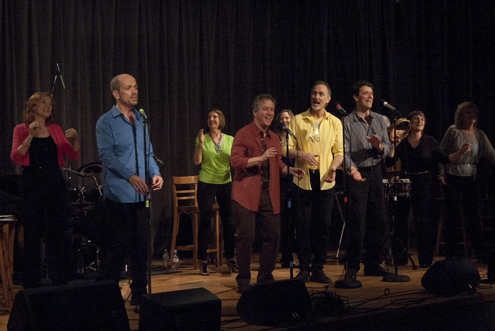 Kevin Fennell and Company singing Runaround Sue at Queens Library