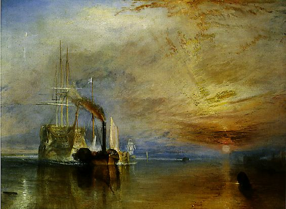 The Fighting Temeraire by J.M.W.Turner